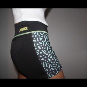 Justice Gymnastics Shorts